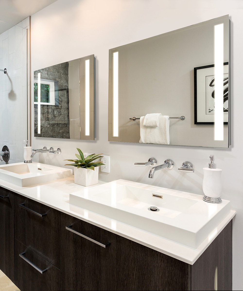 Candela LED Lighted Mirror | Cordova | Lighting Company